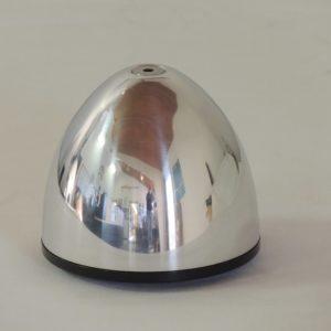 4in aluminum spinner