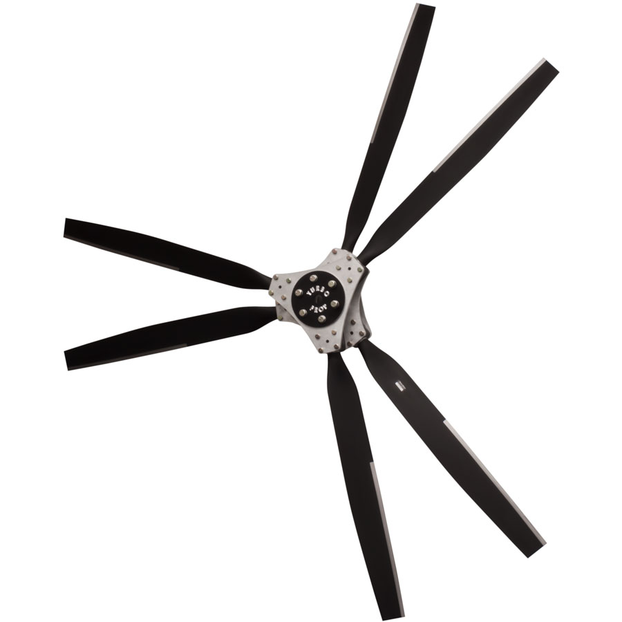 6 Blade Prop With Turbo Hub Warp Drive Propellers