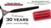Warp Drive Propellers Ad in WDLA Printing Soon