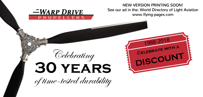 Warp Drive Propeller 2018 Ad
